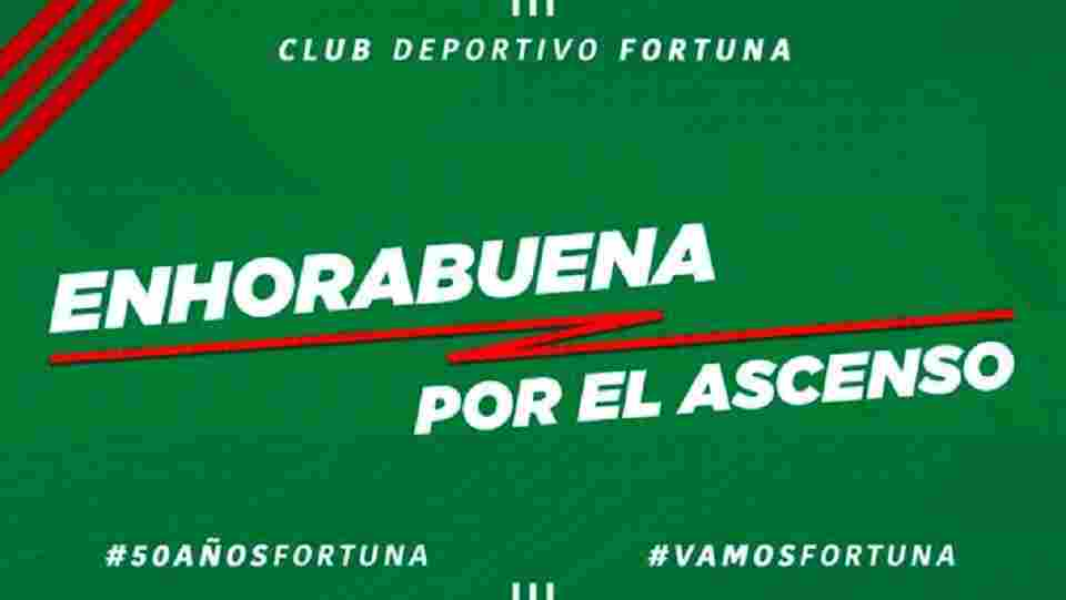 Ascensos del CD Fortuna