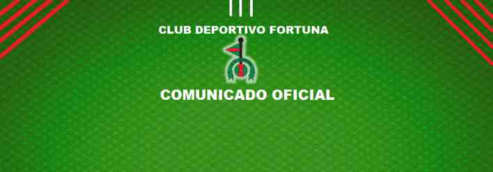 Comunicado Oficial CD Fortuna