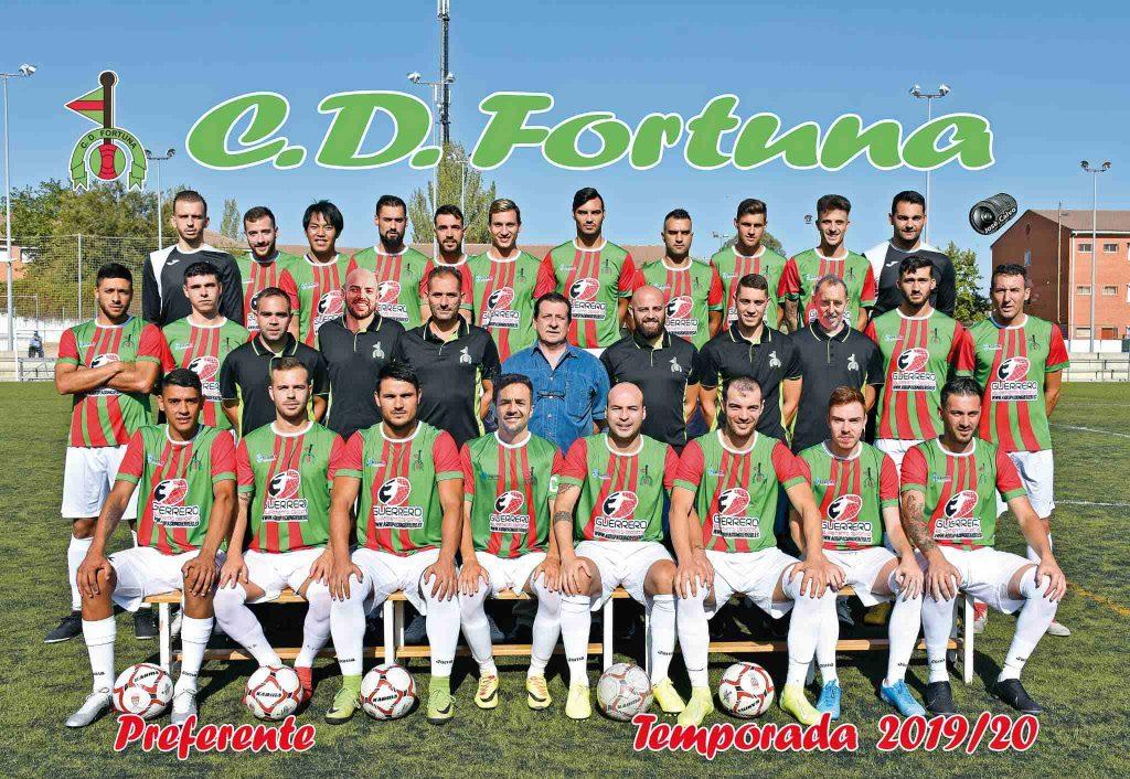 Foto plantilla primer equipo CD Fortuna