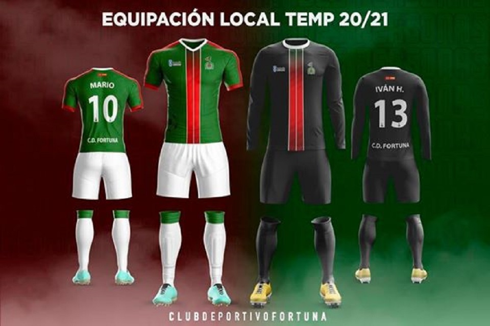 Equipaciones Locales C.D. Fortuna 2020-21