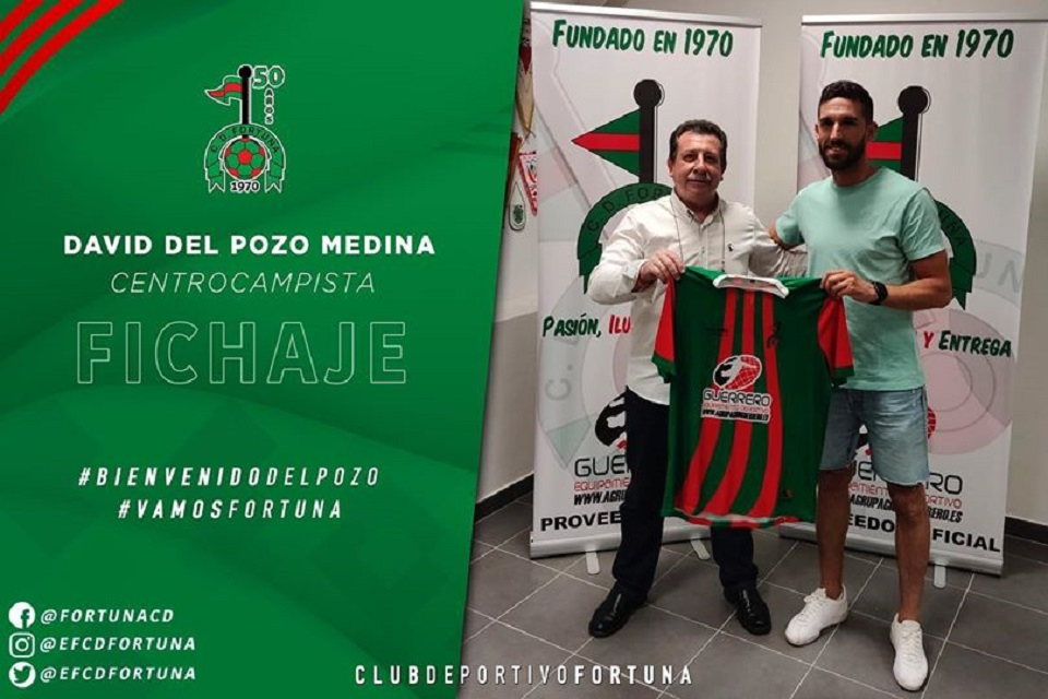Fichaje David del Pozo Medina CD fortuna 20-21
