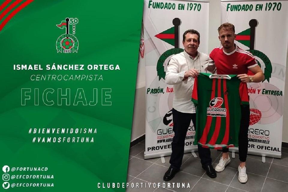 Fichaje Ismael Sánchez Ortega CD Fortuna 20-21