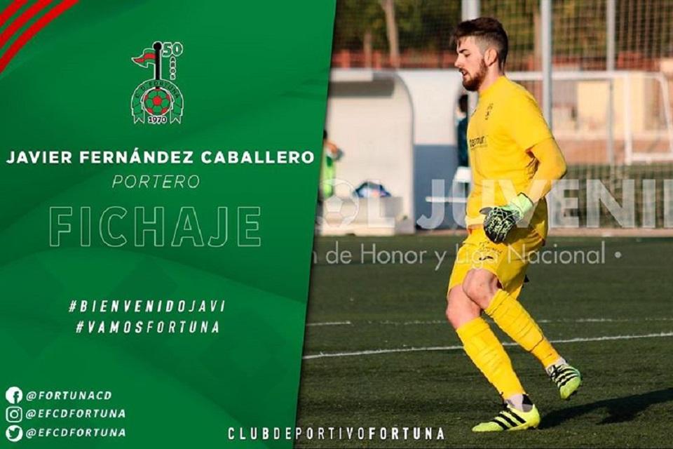 Fichaje Javier Fernández Caballero CD Fortuna 20-21