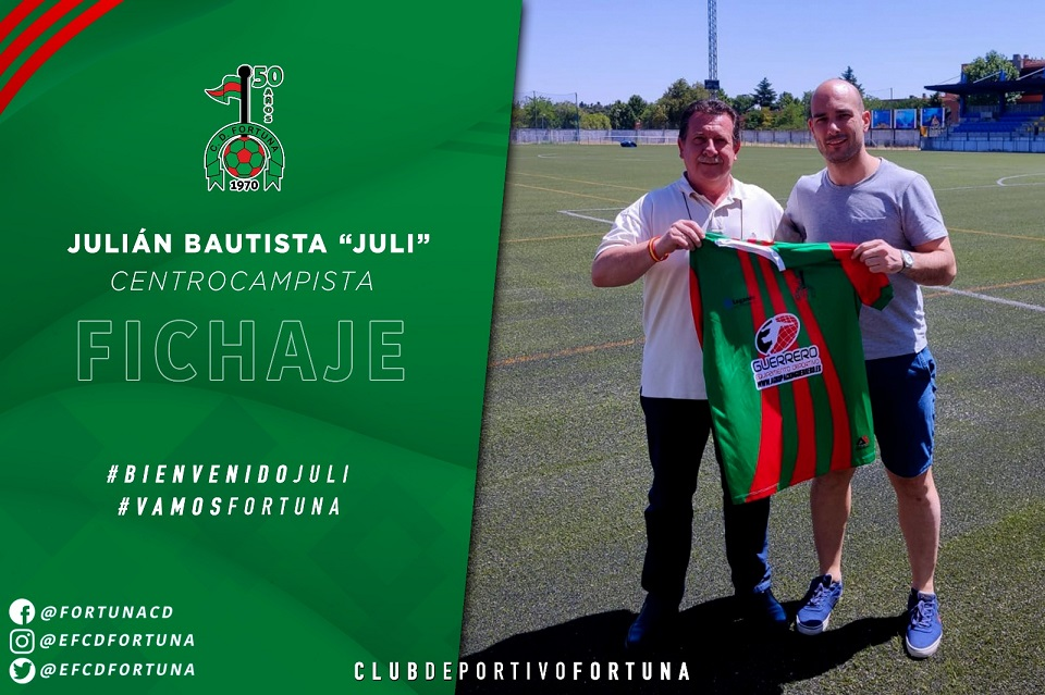 Fichaje Julián Bautista CD Fortuna 20-21