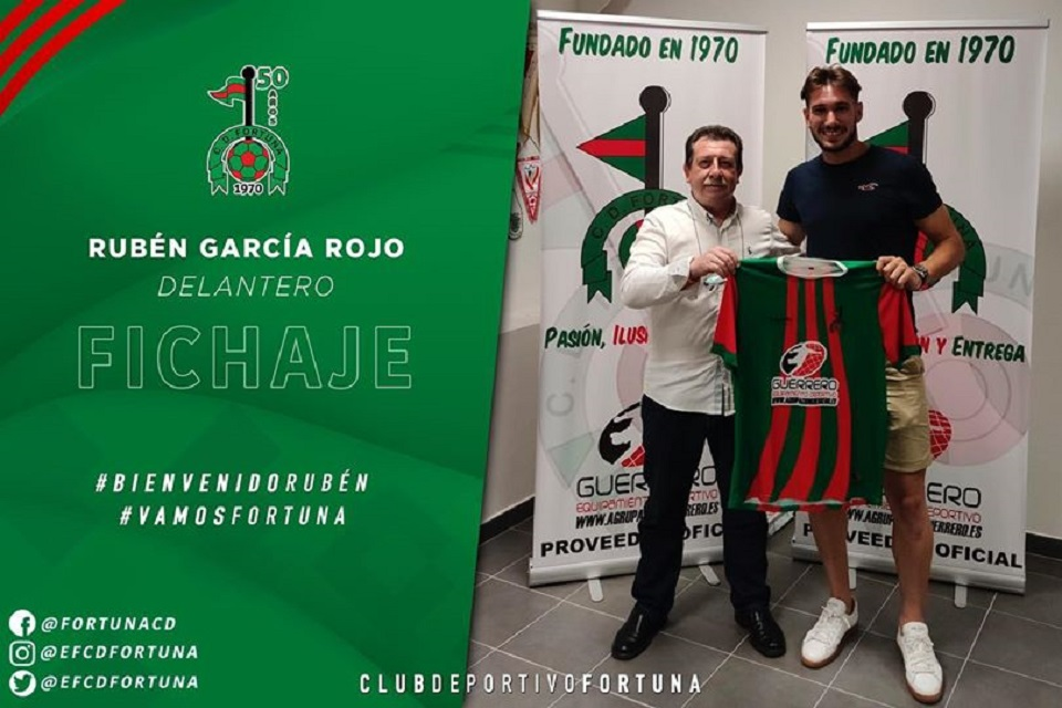 Fichaje Rubén García Rojo CD Fortuna 20-21