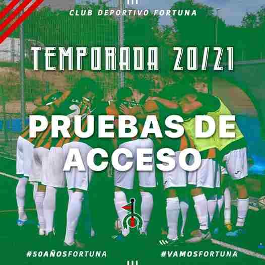 Pruebas de acceso CD Fortuna 2020-21 (2)