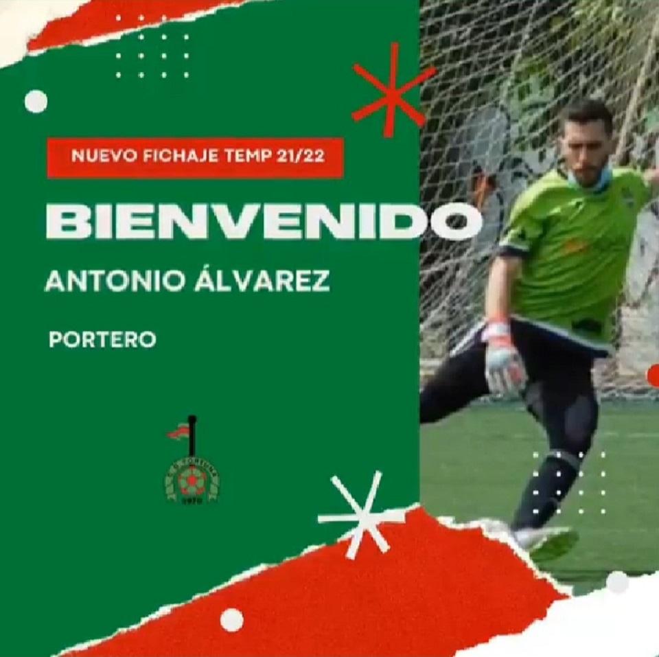 Fichaje Antonio Álvarez